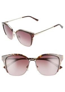Ted Baker London 54mm Gradient Square Sunglasses