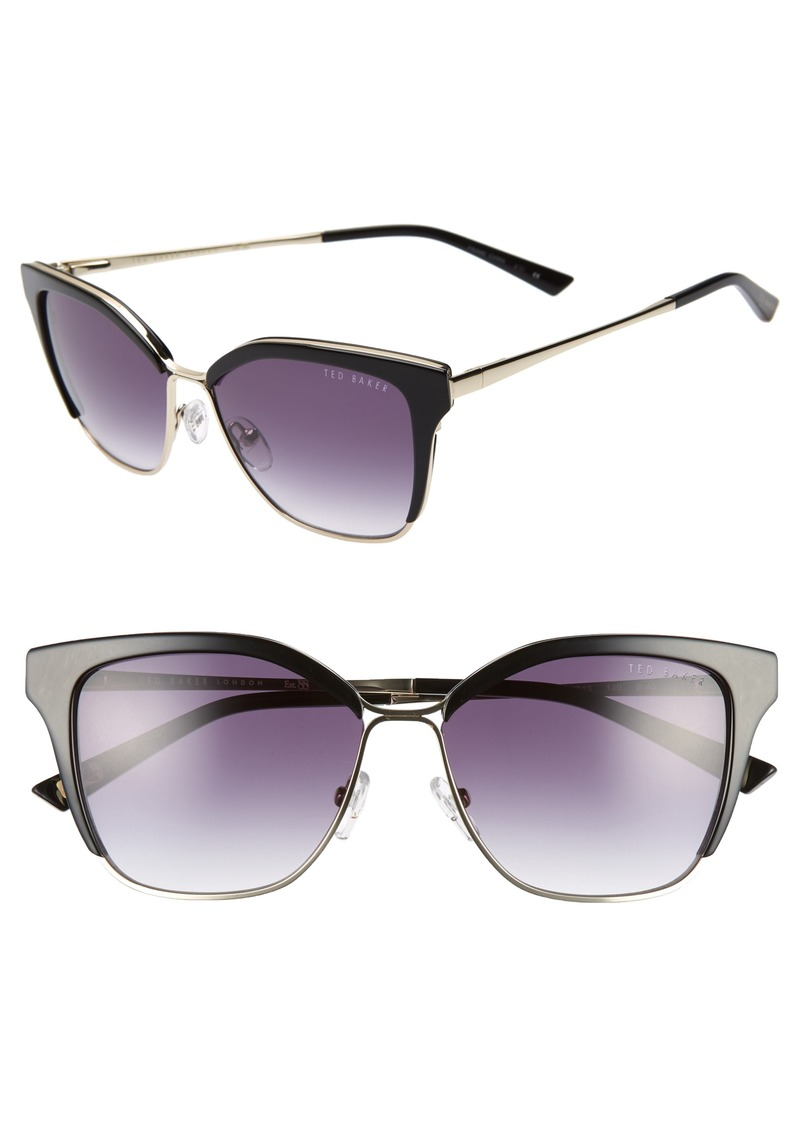 fa982b5e6 Ted Baker Ted Baker London 54mm Gradient Square Sunglasses