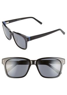 Ted Baker London 54mm Polarized Sunglasses