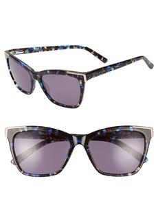 Ted Baker London 54mm Square Sunglasses