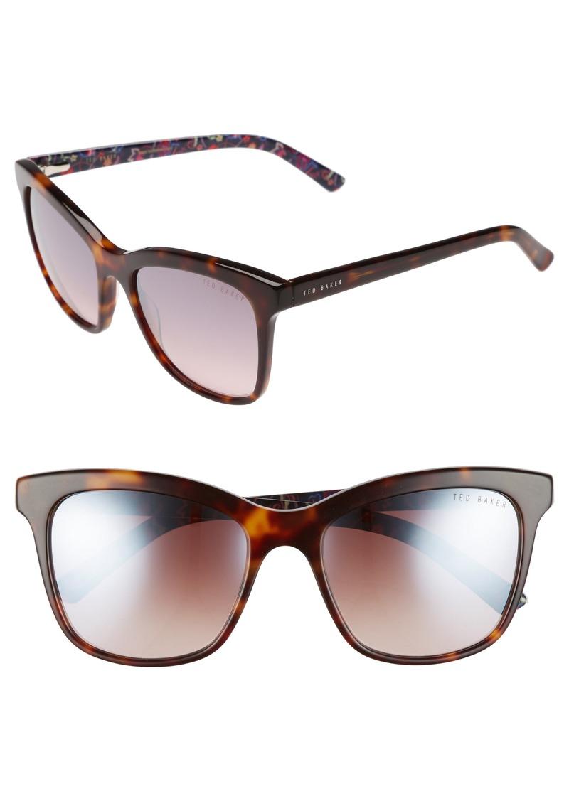 09a4136cd06a0d Ted Baker Ted Baker London 55mm Cat Eye Sunglasses