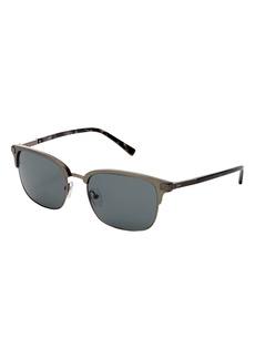 Ted Baker London 55mm Polarized Square Sunglasses