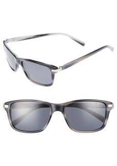 Ted Baker London 55mm Polarized Sunglasses