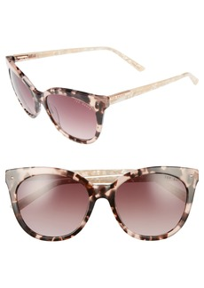 Ted Baker London 56mm Cat Eye Sunglasses