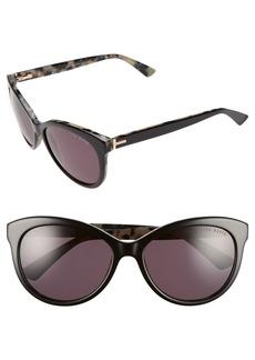 Ted Baker London 56mm Cat Eye Sunglasses