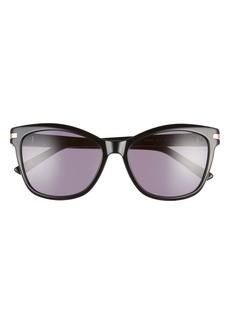 Ted Baker London 56mm Gradient Cat Eye Sunglasses