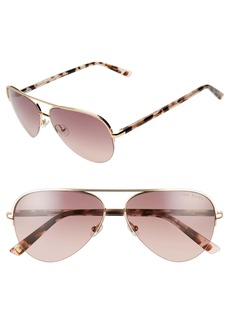 Ted Baker London 59mm Gradient Aviator Sunglasses