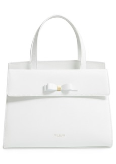 Ted Baker London Aarilli Bow Leather Satchel
