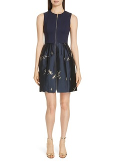 Ted Baker London Adellu Fit & Flare Dress