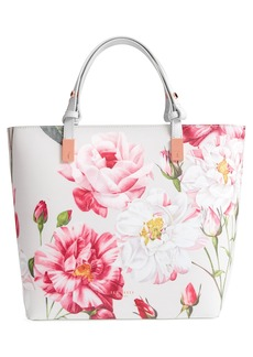 Ted Baker London Adjustable Handle Leather Tote