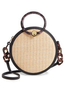 Ted Baker London Agneti Woven Circle Crossbody Bag