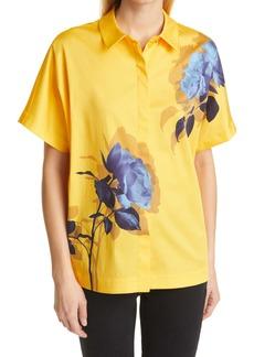 Ted Baker London Aidenn Floral Short Sleeve Button-Up Shirt