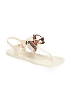 Ted Baker London Ainda Slingback Bow Sandal (Women)
