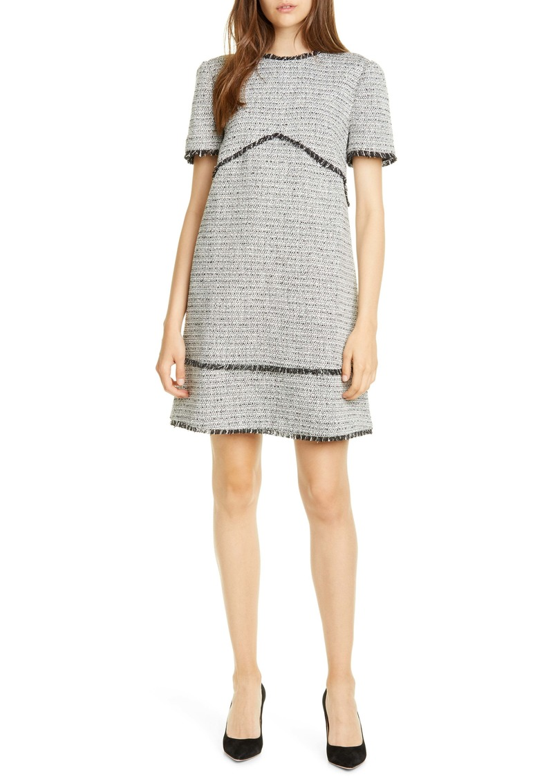 Ted Baker London Aleiced Tweed Shift Dress
