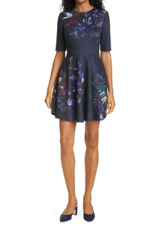 Ted Baker London Alephie Skater Dress
