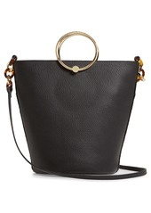Ted Baker London Aliena Genuine Calf Hair Bucket Bag