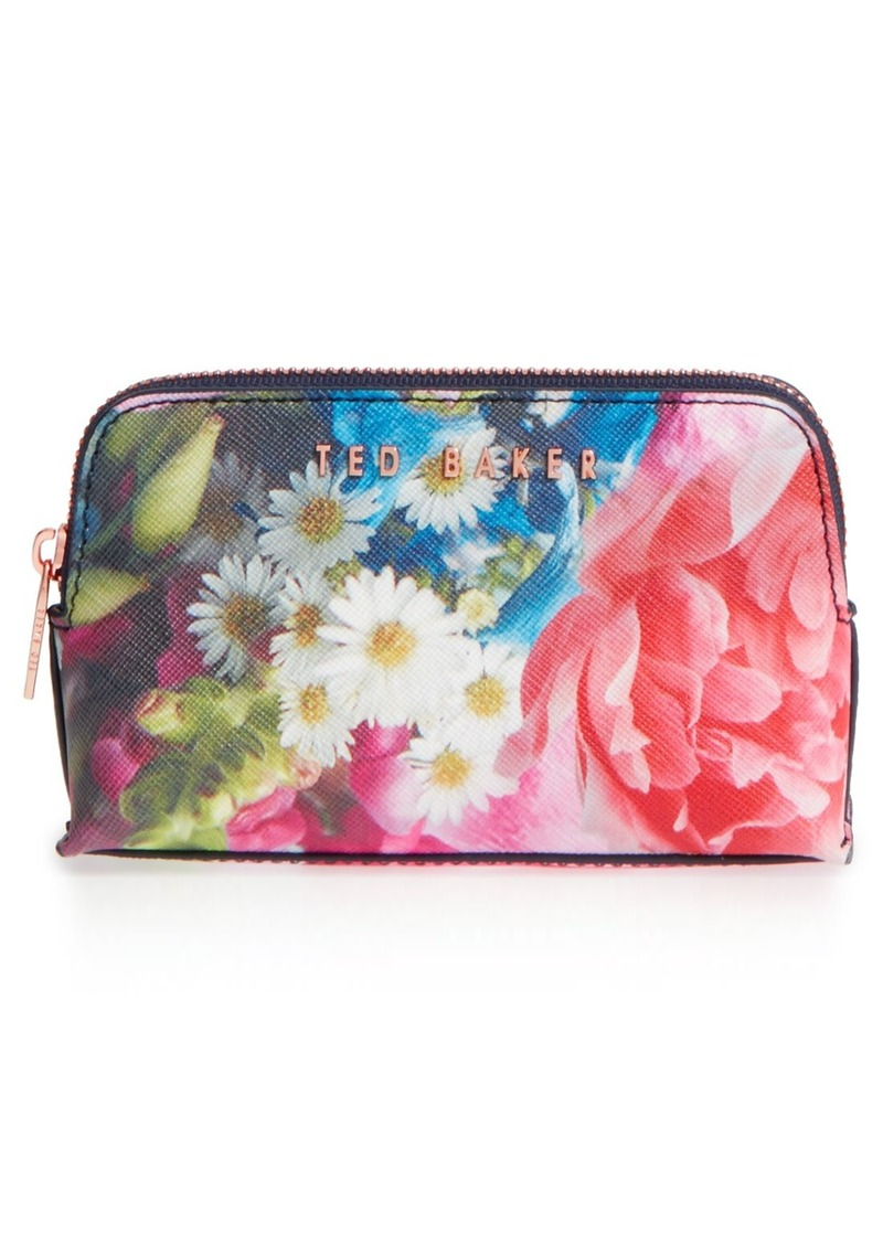 Ted Baker London 'Alliss Focus Bouquet' Small Wash Bag