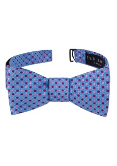 Ted Baker London Alternating Dot Silk Bow Tie