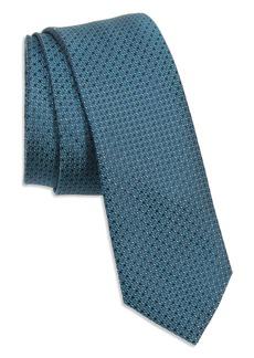 Ted Baker London Alternating Neat Silk Skinny Tie