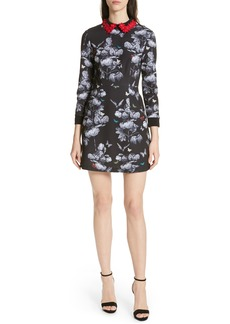 Ted Baker London Amaliia Narrnia Floral Collar Dress