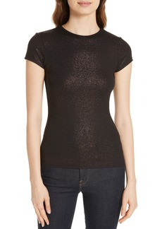 Ted Baker London Amander Shimmer Fitted Tee