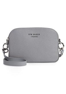 Ted Baker London Amerrah Branded Strap Leather Crossbody Bag