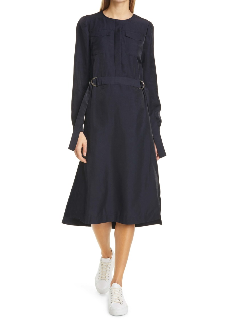 Ted Baker London Aminna Long Sleeve Midi Dress