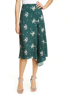 Ted Baker London Anabell Flourish Asymmetrical Skirt