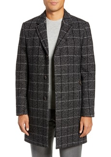 Ted Baker London Ando Slim Checked Overcoat