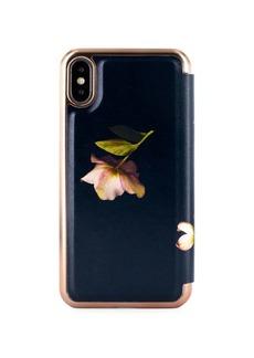 Ted Baker London Arboretum Mirror Folio iPhone X/XS Case