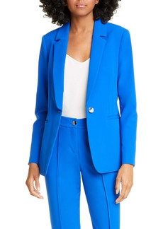 Ted Baker London Ariee Longline Single Breasted Blazer