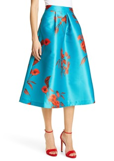 Ted Baker London Arielle Fantasia Jacquard Full Skirt