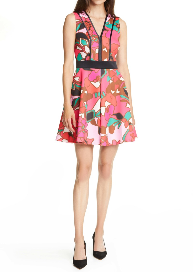 Ted Baker London Arilina Piñata Piped Skater Dress