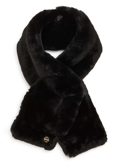 Ted Baker London Athenaa Faux Fur Pull Through Scarf