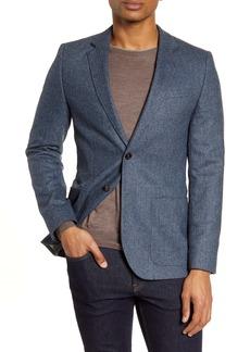 Ted Baker London Athlead Slim Fit Herringbone Wool Blend Sport Coat
