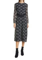 Ted Baker London Atlas Long Sleeve Midi Dress