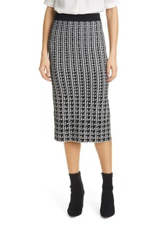 Ted Baker London Atlassy Atlas Jacquard Skirt