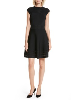Ted Baker London Aurbray Knit Skater Dress