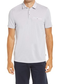 Ted Baker London Barbell Short Sleeve Piqué Pocket Polo