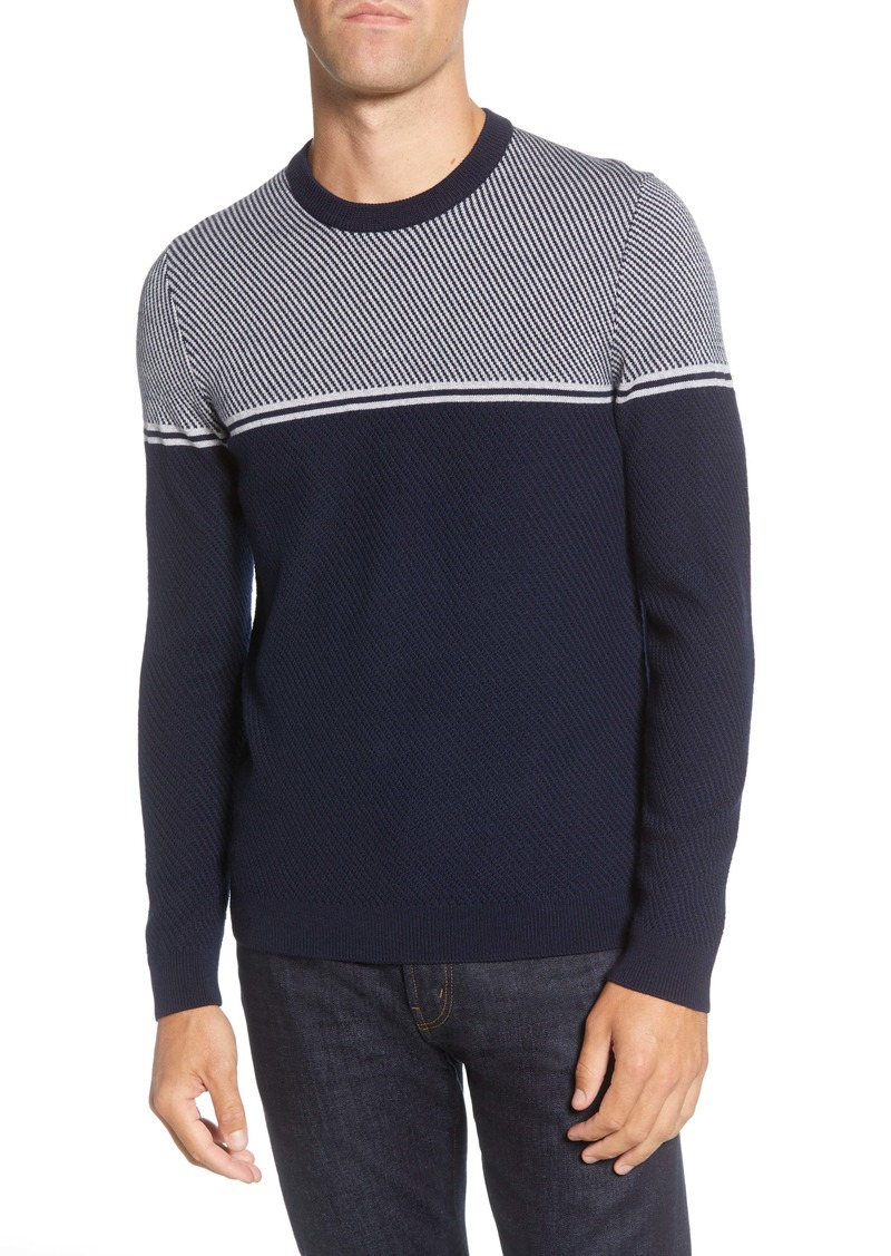 Ted Baker London Bartun Stripe Sweater
