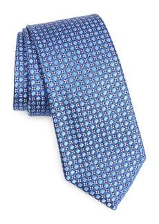 Ted Baker London Basketweave Check Silk Tie