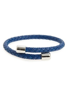 Ted Baker London Bassett Braided Leather Bracelet