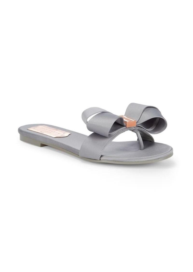 7d414219b Ted Baker Ted Baker London Beauita Satin Thong Sandals