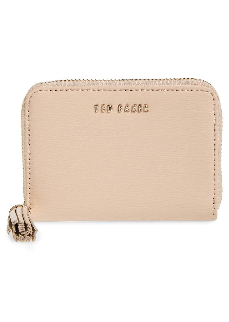 Ted Baker London Belaah Zip Around Leather Wallet