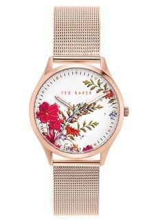 Ted Baker London Belgravia Mesh Strap Watch, 36mm