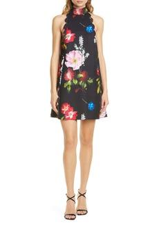 Ted Baker London Tanii Floral Scallop Shift Dress