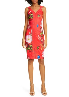 Ted Baker London Amylia Floral Sheath Dress