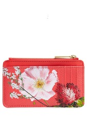 Ted Baker London Berry Sundae Print Leather Card Case