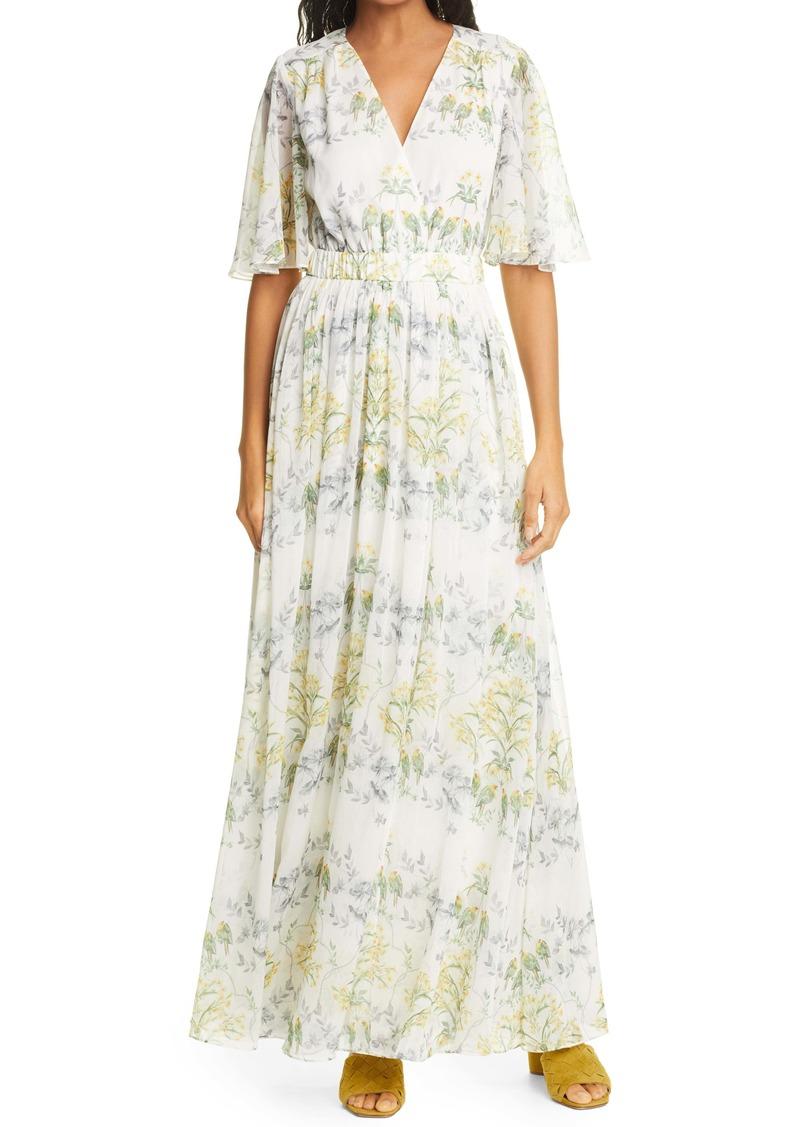 Ted Baker London Bilia Papyrus Maxi Dress