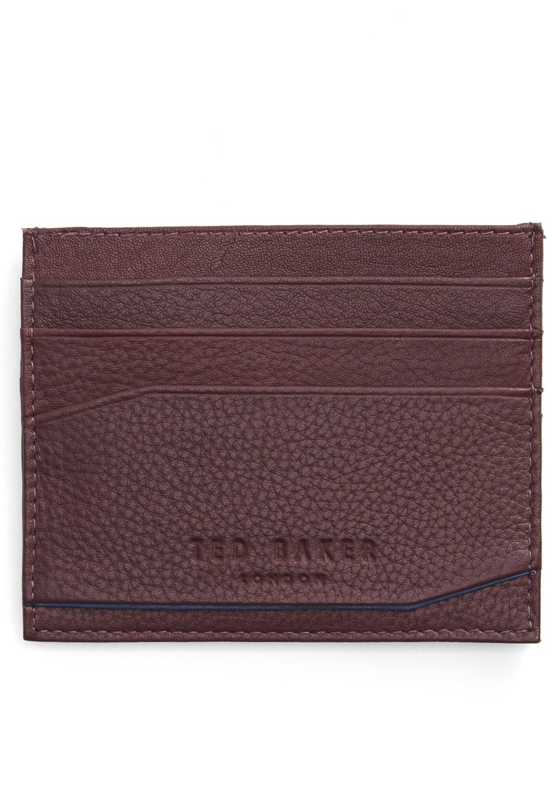 062012832 Ted Baker Ted Baker London Binxx Leather Card Case